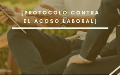 Protocolo contra el acoso laboral: Obligatorio
