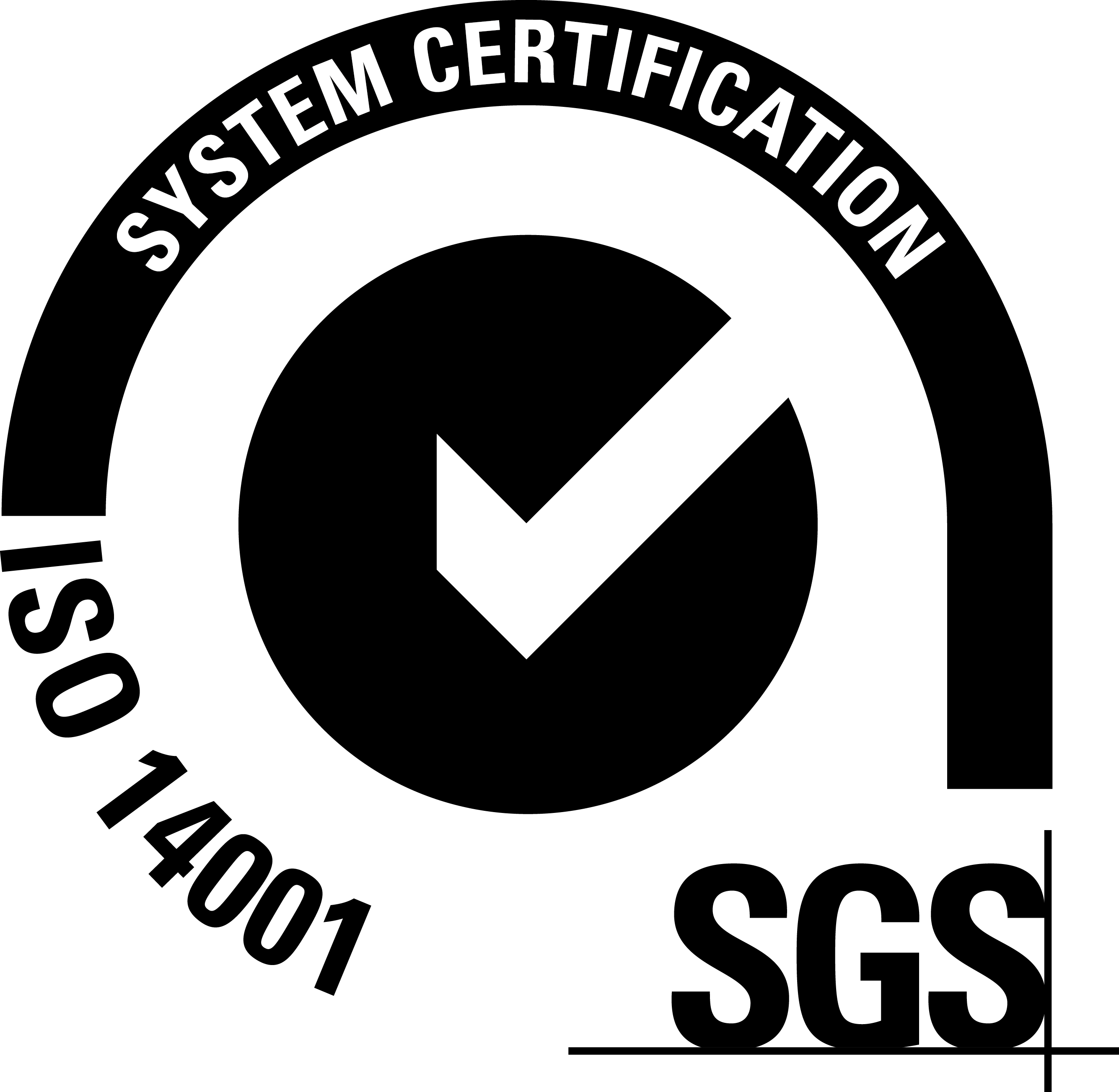 SGS-ISO 14001-NEGRO